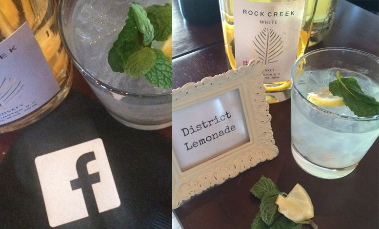One Eight Distillery District Lemonade