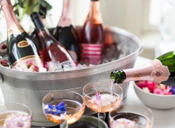 'Tis the Season: Whiskey Sour + Rosé Cocktail