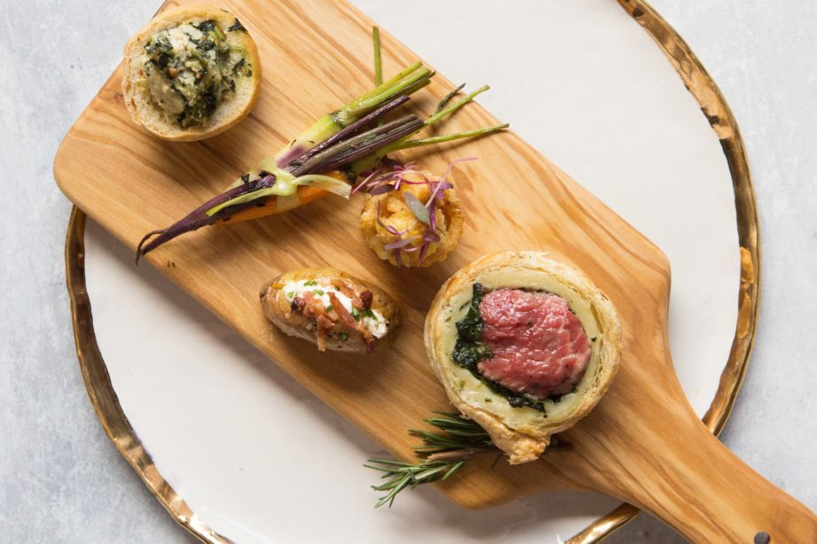 Mini Steakhouse Boards for a Seated Dinner